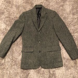 J. Crew men's herringbone tweed blazer